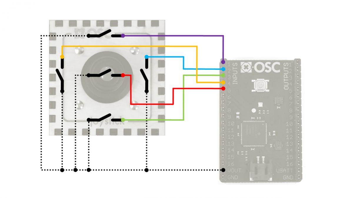 WiFi arcade controller (x-OSC Java demo) – x-io Technologies